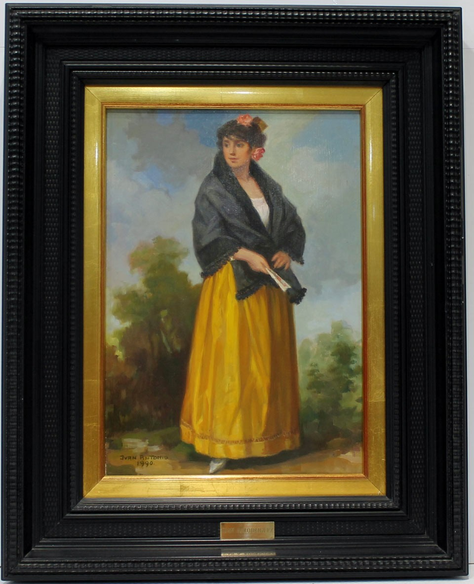 Juan A. Rodríguez: Figura de mujer