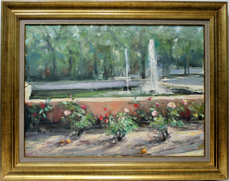 Manuel Reina: Jardín del Prado