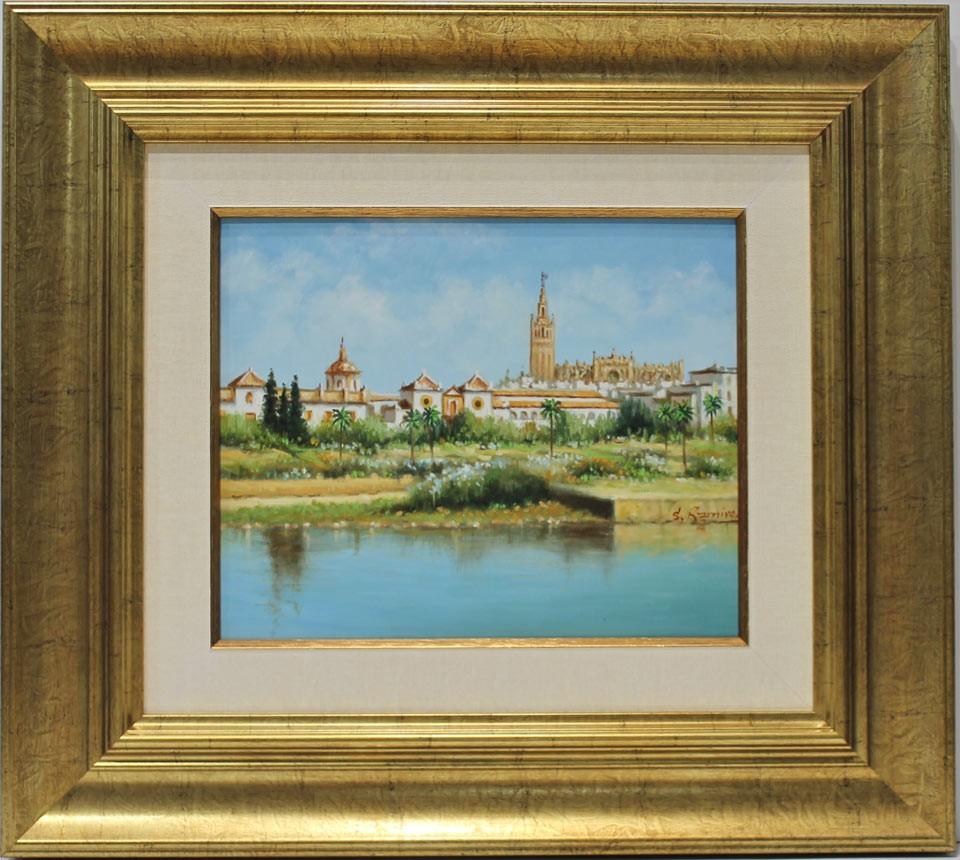 Rafael Sánchez: Vista de Sevilla