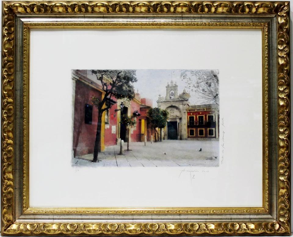 Azopardo: Plaza de San Lorenzo