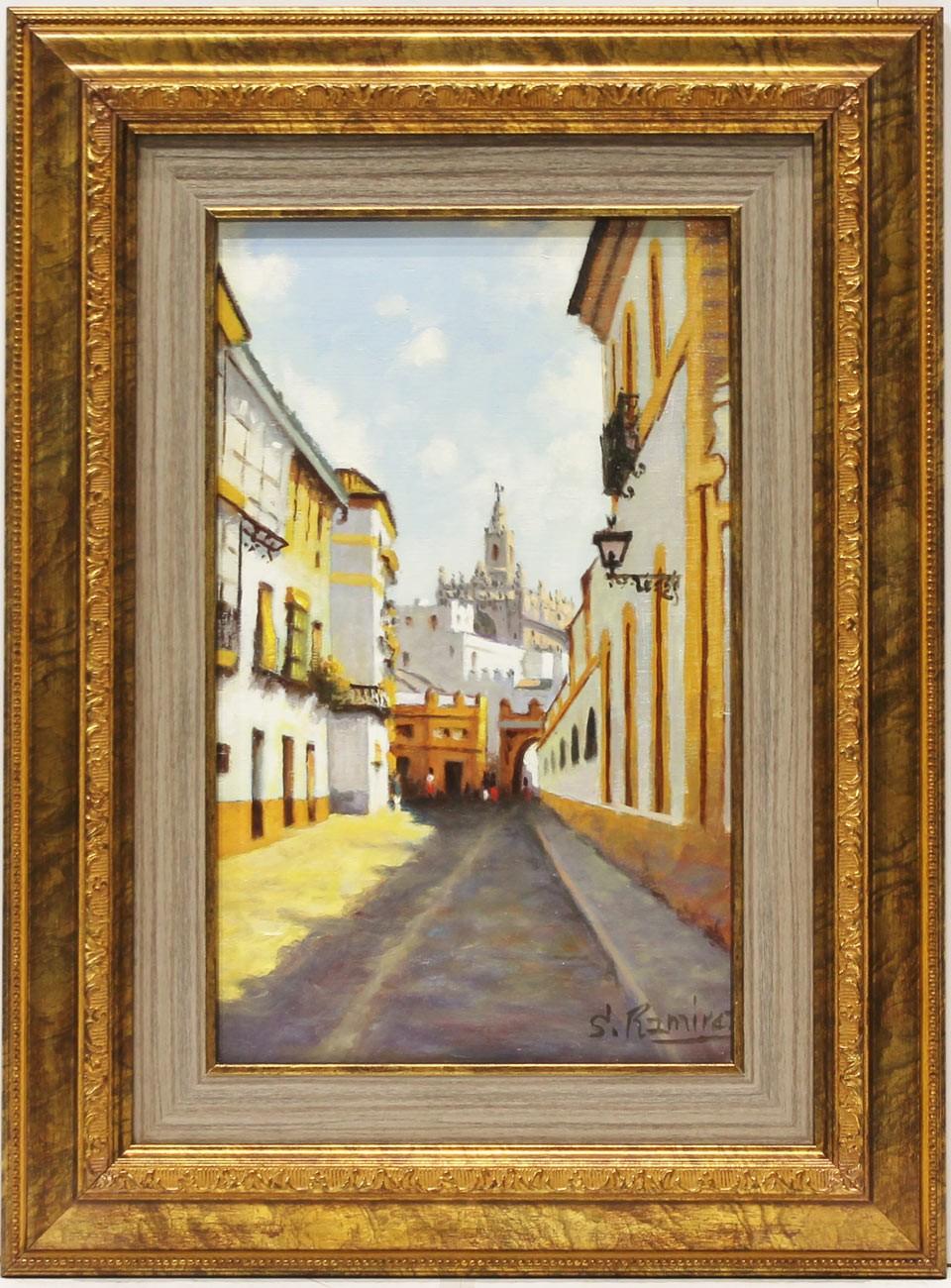 Sánchez Ramírez: Vista de Sevilla