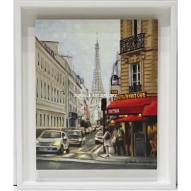 Silvia Navarro: Vista de Paris