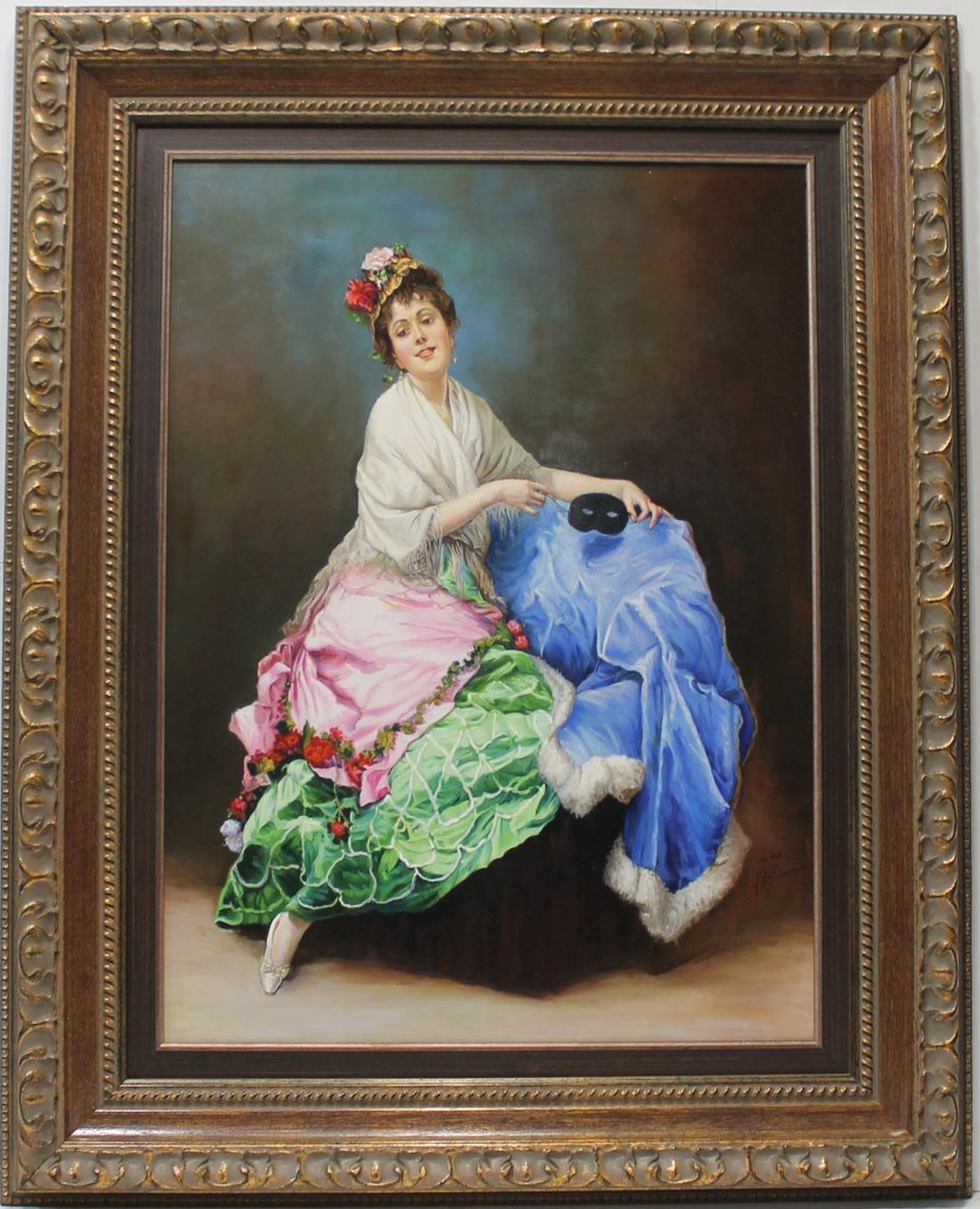 Luis de Pereda: Figura de mujer