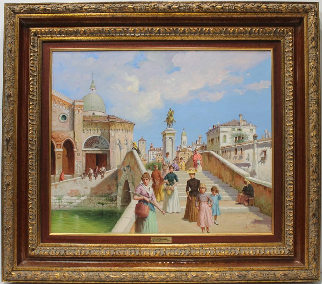 Luis de Pereda: Escena Veneciana