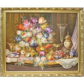 Michel: Bodegón de flores