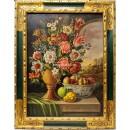 Rafael Bernois: Bodegón de flores