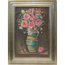 Ana María Mairena: Vase with flowers