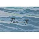 Puerto: Atardecer en el mar