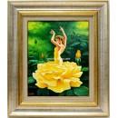 Jesús Fernández: Bailaora de la rosa amarilla