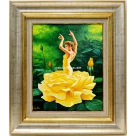 Yellow rose dancer