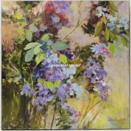 Carmen Schamann: Mauve flowers