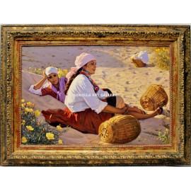 Descanso en la arena