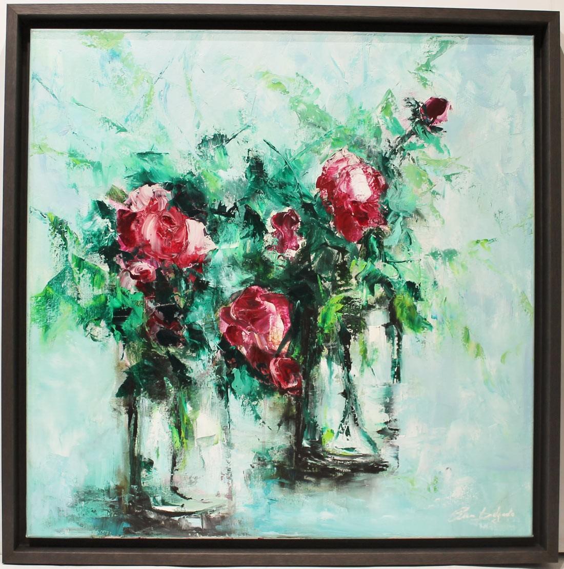 Ana Delgado: Rosas rojas