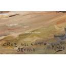 Manolin Fernández: Cruz del Campo (Sevilla)
