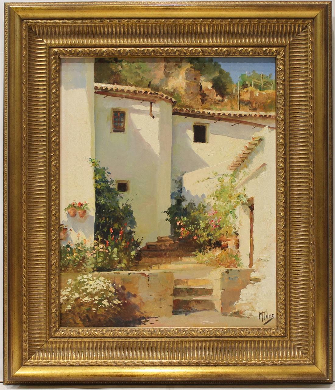 Manolin Fernández: Casas blancas (Grazalema)