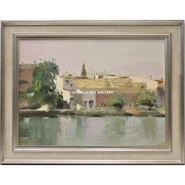 Manuel Reina: Vista de Sevilla