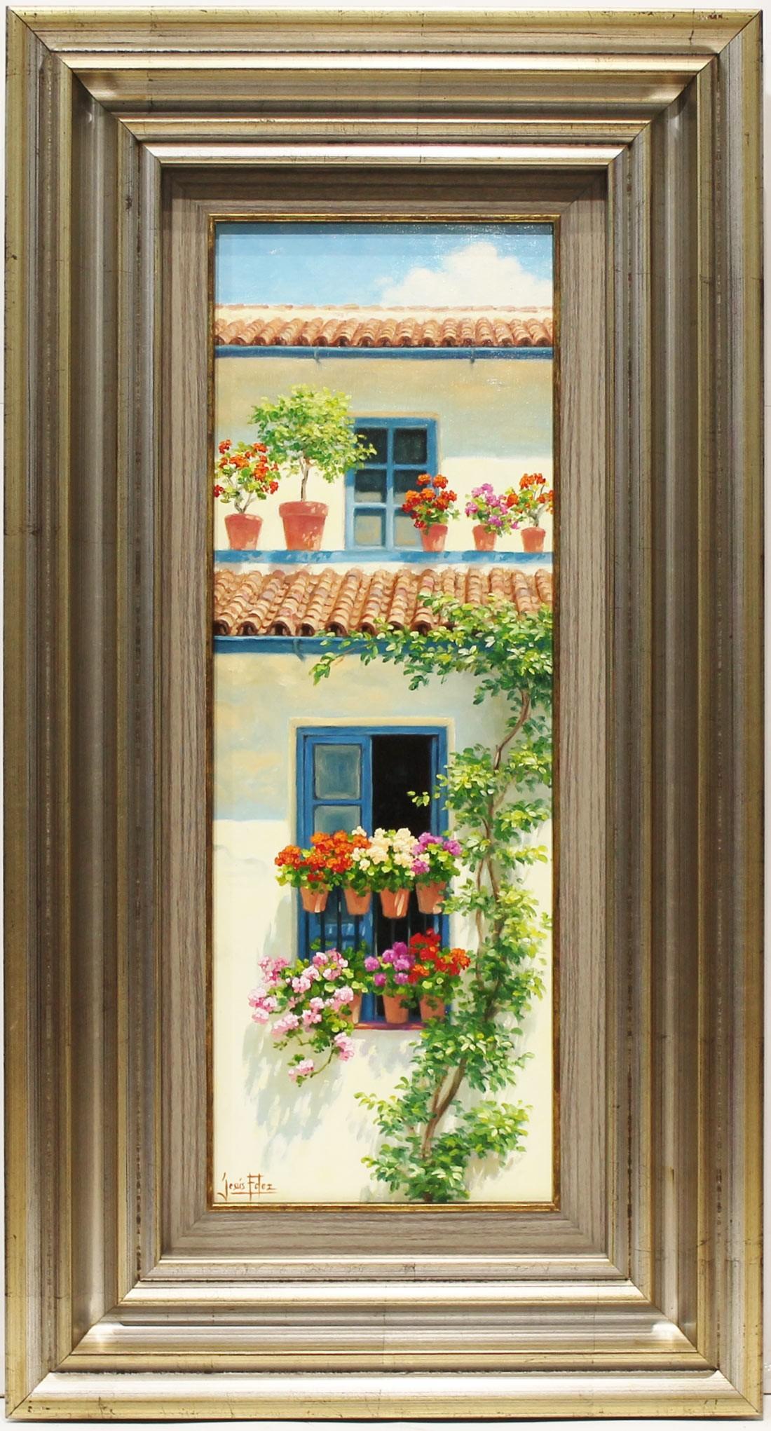 Jesús Fernández: Balcón y ventana