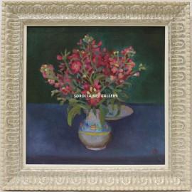 Benito Moreno: Flores rojas