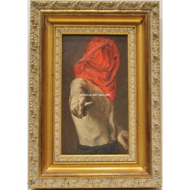 José María Menacho: Hooded figure