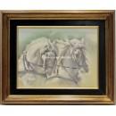 Benito Moreno: Cabezas de caballo