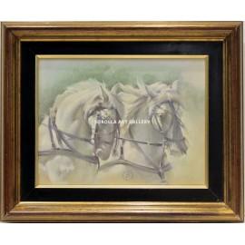 Benito Moreno: Horse heads