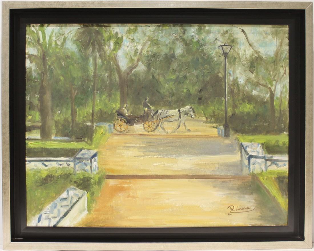 Rosa María: Parque de María Luisa