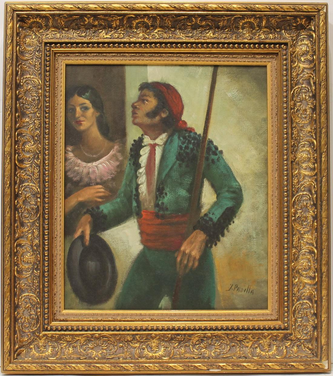 Juan Padilla: Goyesco verde