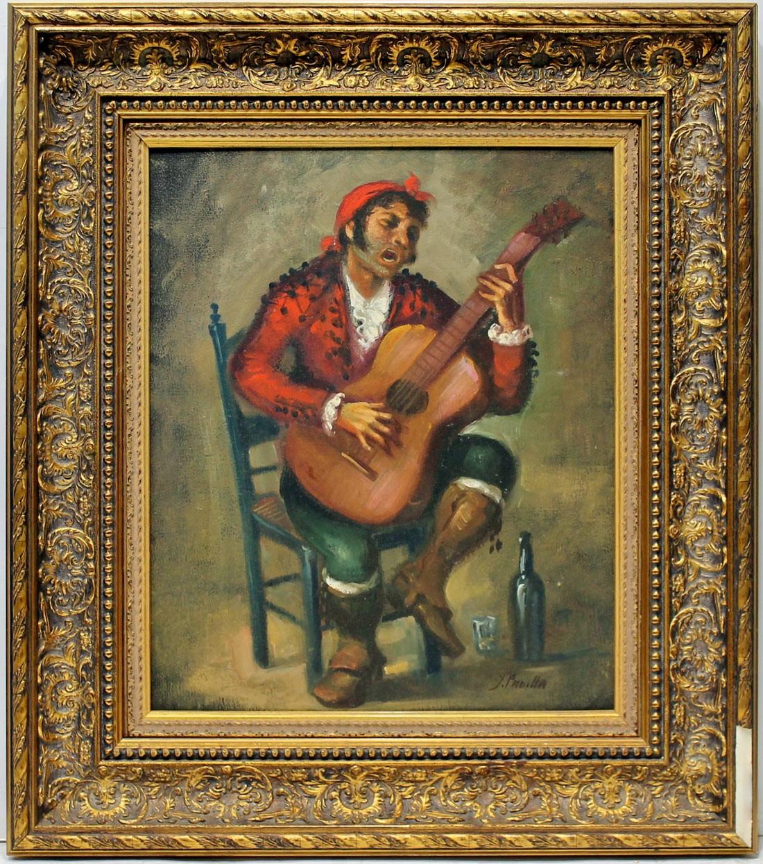 Juan Padilla: Goyesco rojo