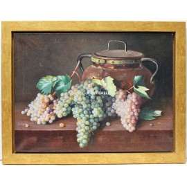Still life of grapes