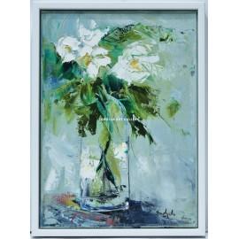 Ana Delgado: Rosas blancas
