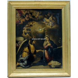 Annunciation (following Murillo's models)