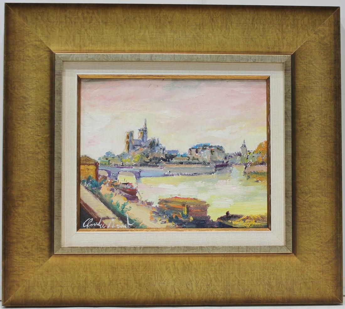 Claude Monset: Vista de Paris
