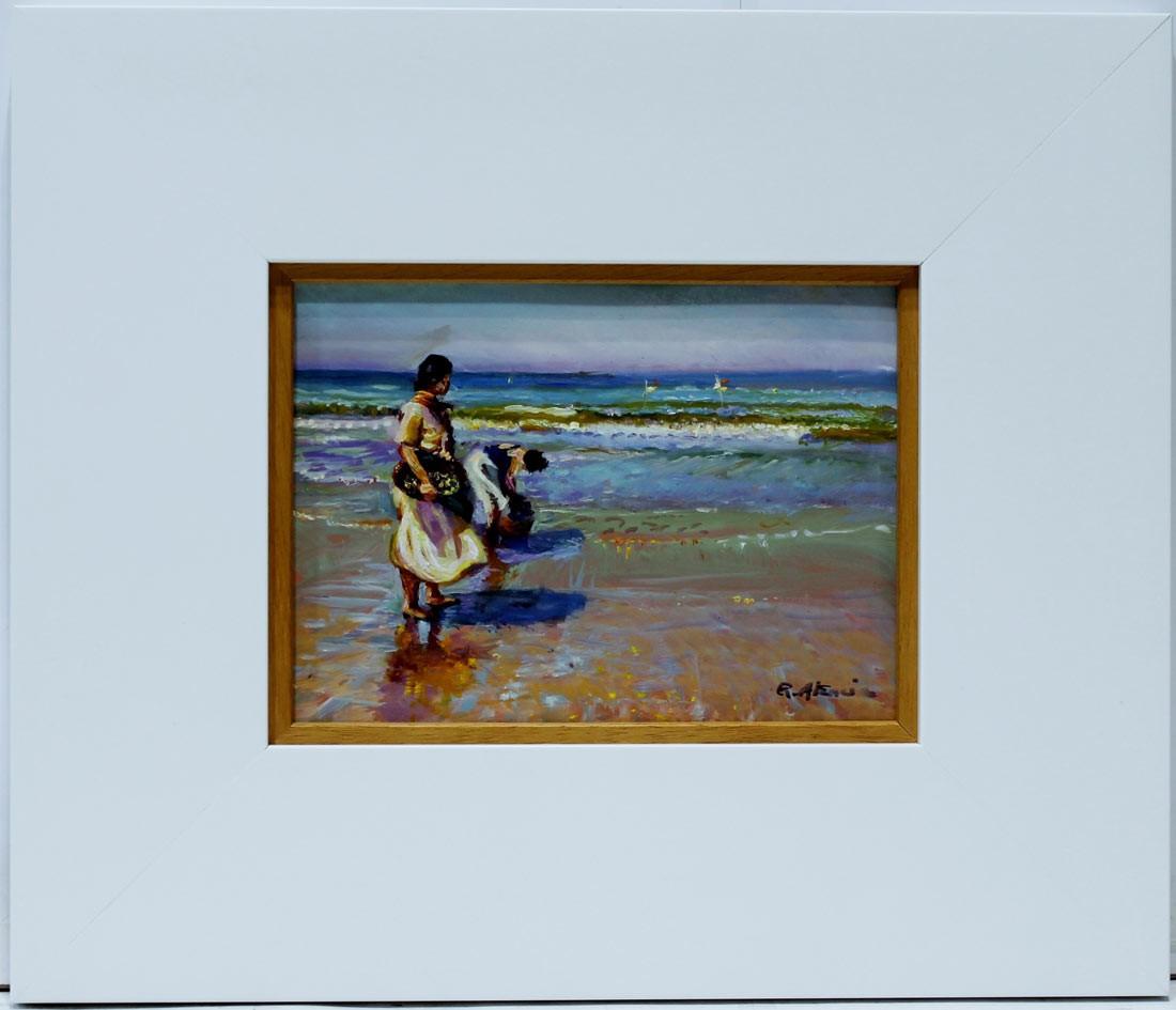 Rafael Atencia: Mujeres en la playa