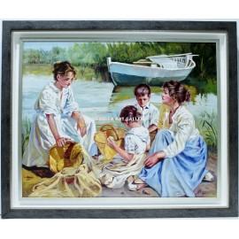 Mujeres en la orilla
