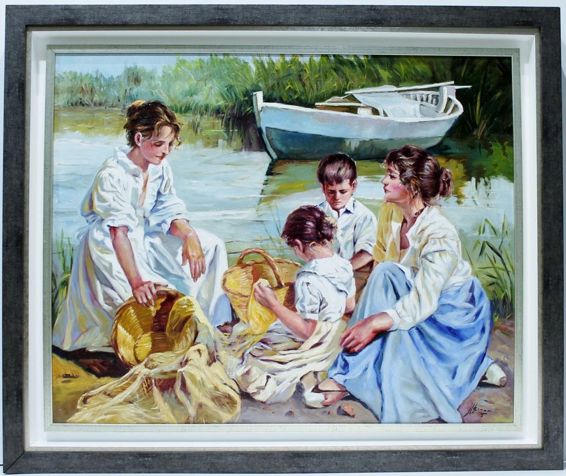 Jose Luis Giner: Mujeres en la orilla