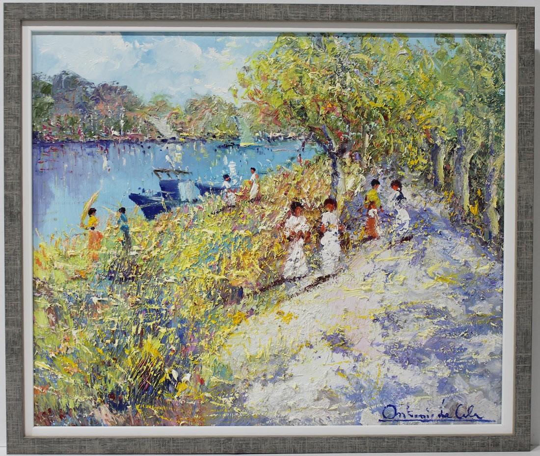 Antonio de Cela: Camino del río