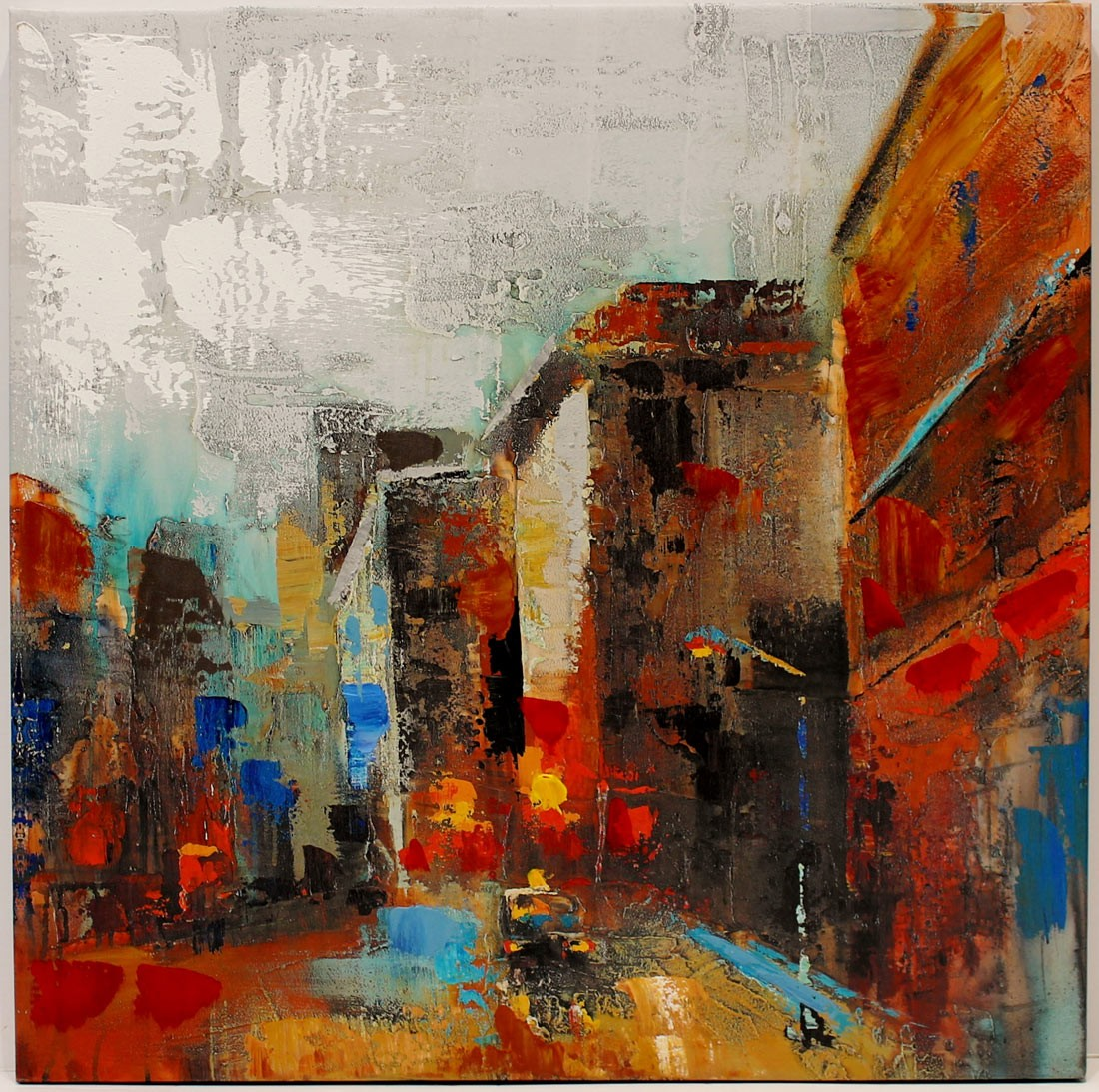 Anónimo: Vista urbana