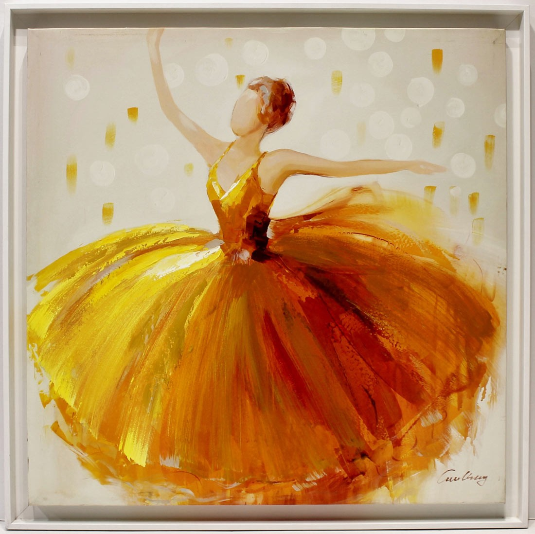 Anónimo: Bailarina