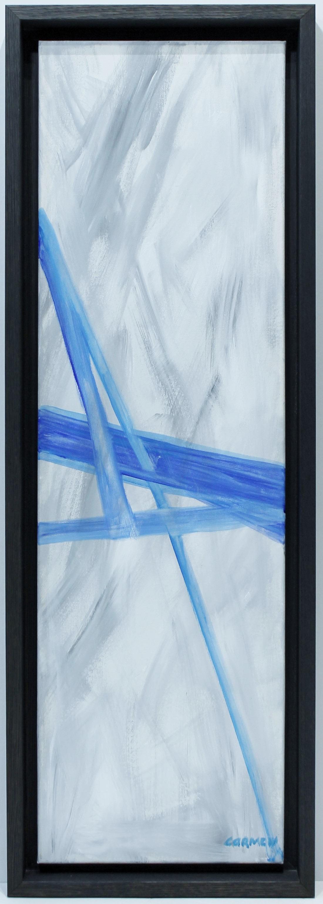 Carmen Schamann: Espacio en azul