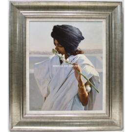 Mujer con nardos