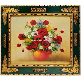 M. Hopkins: Bodegón de flores