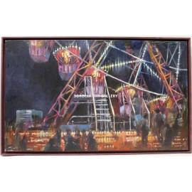 Javier Montes: Ferris wheel night