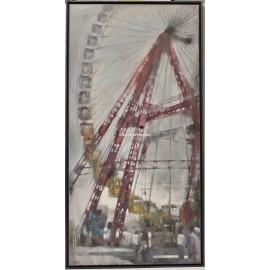 Javier Montes: Grey Ferris wheel