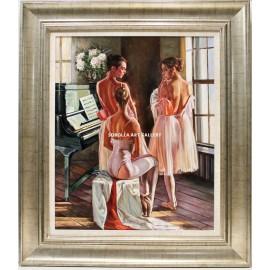 Mario Díaz: Bailarinas en el piano