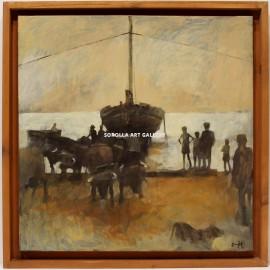 Javier Montes: Sacando la barca