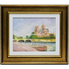 Claude Monset: View of Paris