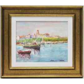 Nando Aguerre: View of the Seine