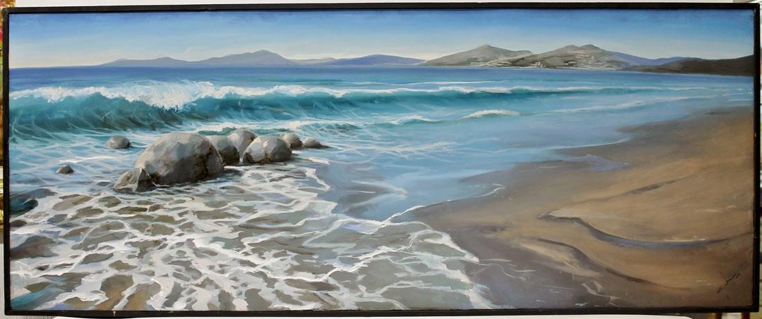 Abraham Pinto: La playa