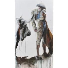 Bullfighting silence