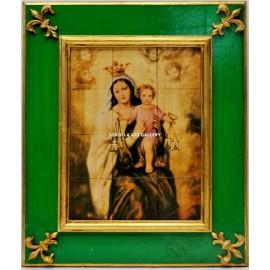 Azulejo Virgen del Carmen